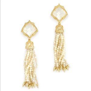 Misha Tassel Clip On Earrings